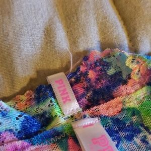 PINK Victoria's Secret Intimates & Sleepwear - Pink VS Multi color Lacey extra low rise thong